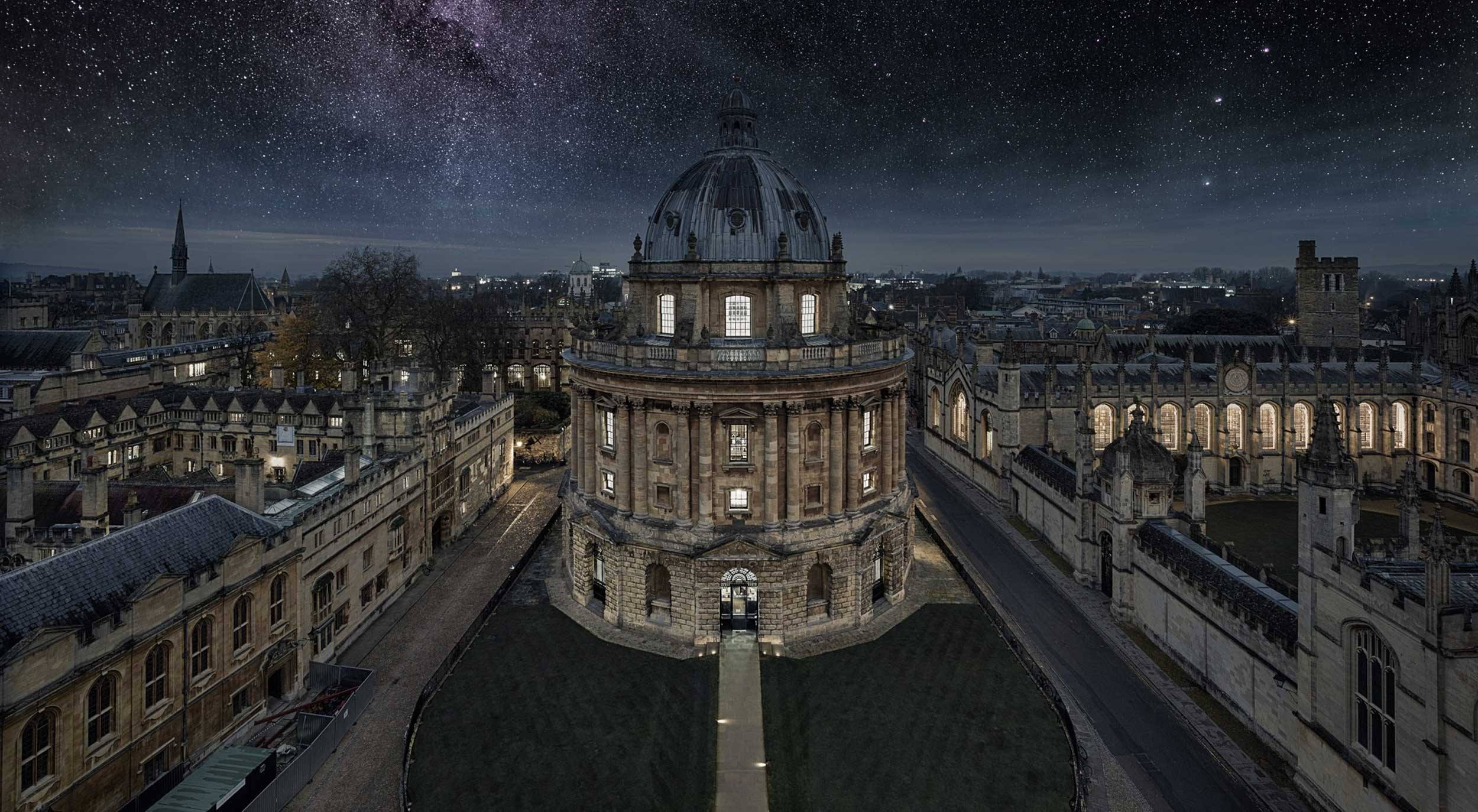 Radcliffe Camera, Oxford, by night